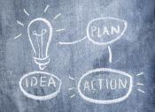 Ide, plan, aktion
