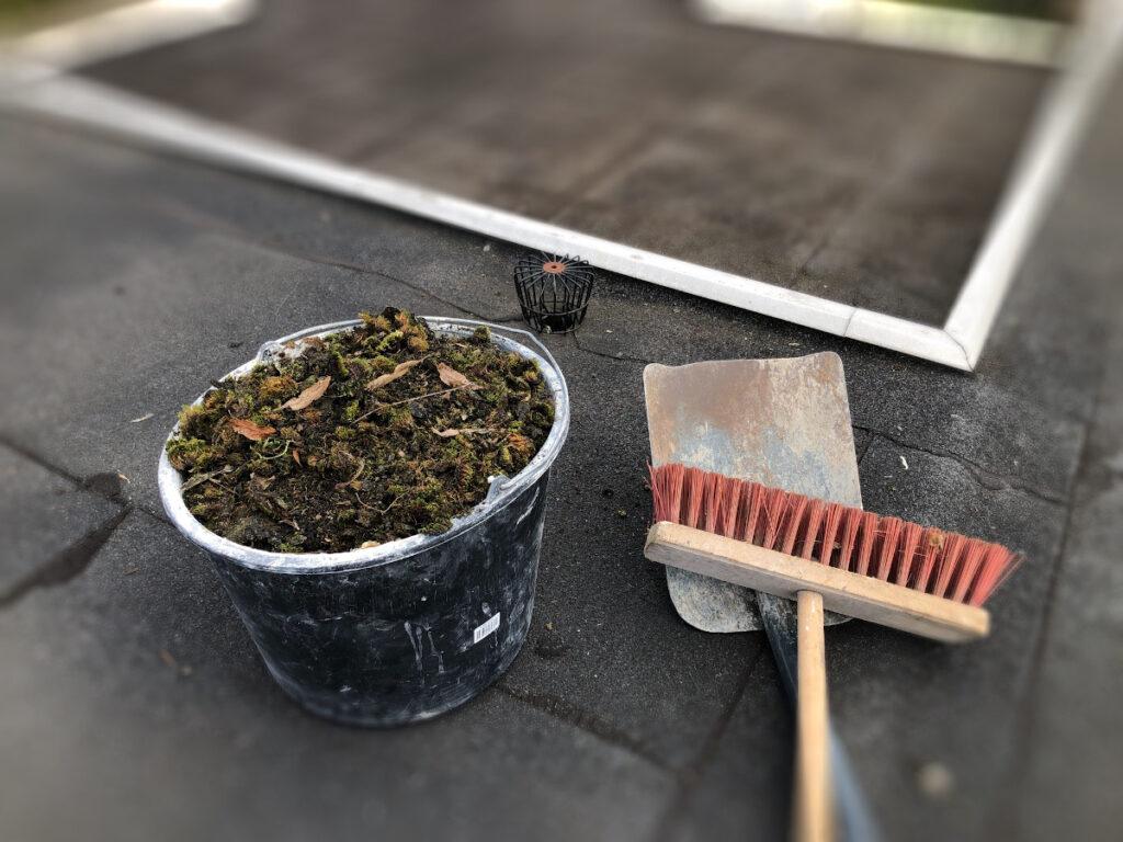 Rengør dit flade tag